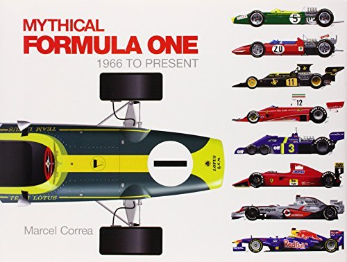 Marcel Correa Mythical Formula One 1966 To Present