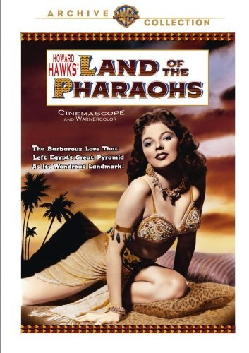 Land Of The Pharaohs Collins Hawkins DVD Mod This Item Is Made On Demand Could Take 2 3 Weeks For Delivery