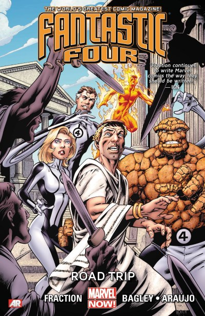 Matt Fraction Fantastic Four Volume 2 Road Trip (marvel Now)