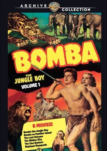 Vol. 1 Bomba The Jungle Boy DVD Mod This Item Is Made On Demand Could Take 2 3 Weeks For Delivery