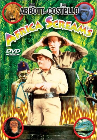Africa Screams Abbott Costello Howard Brooke Bw Nr