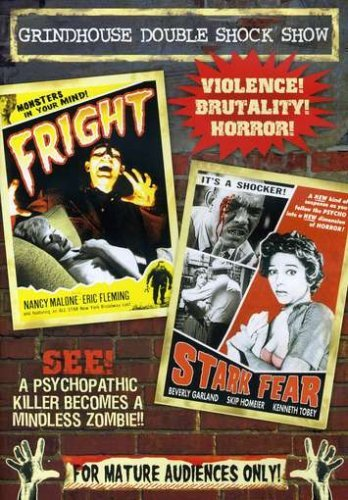 Fright (1956) Stark Fear (1962 Grindhouse Double Shock Show Bw Nr