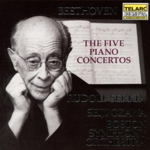 Ludwig Van Beethoven Con Pno 1 5 Comp Serkin*rudolf (pno) Ozawa Boston So