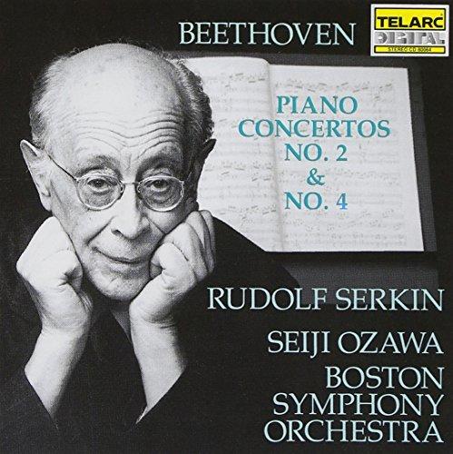 Ludwig Van Beethoven/Con Pno 2/4@Serkin*rudolf (Pno)@Ozawa/Boston So