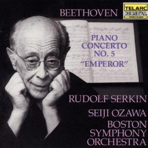 Ludwig Van Beethoven/Con Pno 5@Serkin*rudolf (Pno)@Ozawa/Boston So
