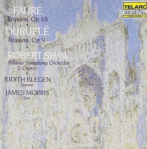 Shaw/Aso/Chorus/Faure & Durufle: Requiem@Blegen (Sop)/Morris (Bar)@Shaw/Atlanta So