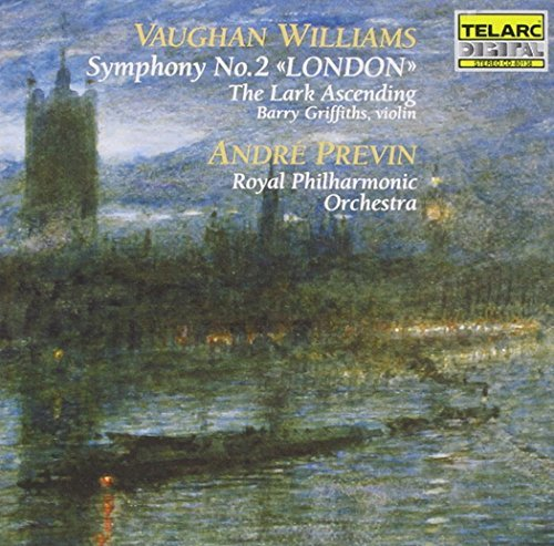 R. Vaughan Williams Sym 2 Lark Ascending Griffiths*barry (vn) Previn Royal Po