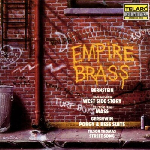 Bernstein Gershwin Thomas West Mass Porgy Street Songs Empire Brass