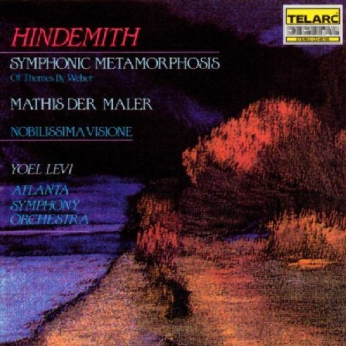 P. Hindemith Mathis Maler Sym Metamorphosis Levi Atlanta So