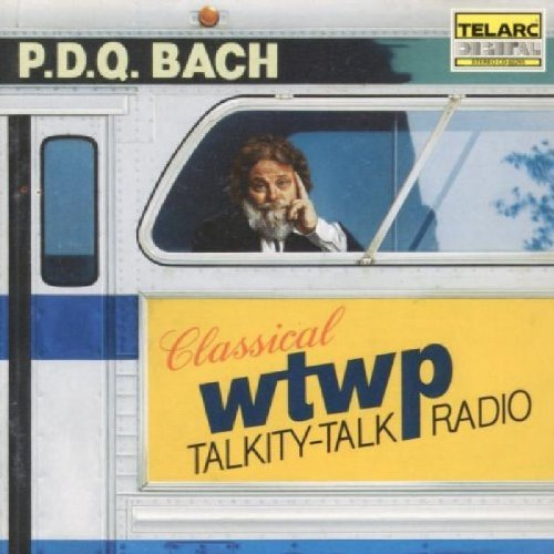 P. (p.D.Q. Bach) Schickele Wtwp Classical Talkity Talk Ra Browne Forrest Schickele