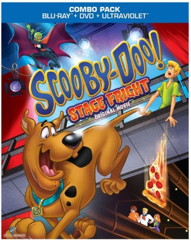 Stage Fright Scooby Doo Blu Ray Ws Uv Incl. DVD