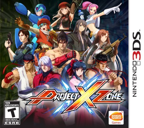 Nin3ds Project X Zone Namco Bandai Games Amer Project X Zone