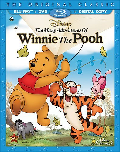 Many Adventures Of Winnie The Pooh Many Adventures Of Winnie The Pooh Blu Ray DVD Dc G