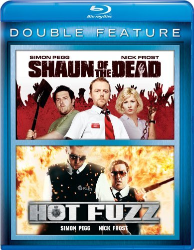 Shaun Of The Dead Hot Fuzz Double Feature Blu Ray Nr