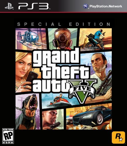 Ps3 Grand Theft Auto V Special Edition