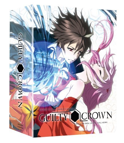 Complete Series Pt. 1 Guilty Crown Blu Ray Lmtd Ed. Tv14 2 DVD 2 Br
