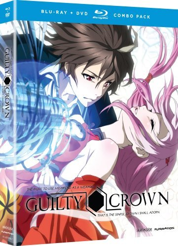 Complete Series Pt. 1 Alt Guilty Crown Blu Ray Ws Tv14