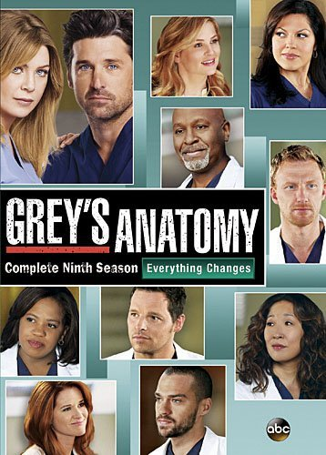 Grey's Anatomy Season 9 DVD Nr
