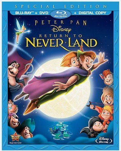 Peter Pan Return To Never Lan Peter Pan Return To Never Lan Blu Ray Ws G DVD Dc Special Ed.