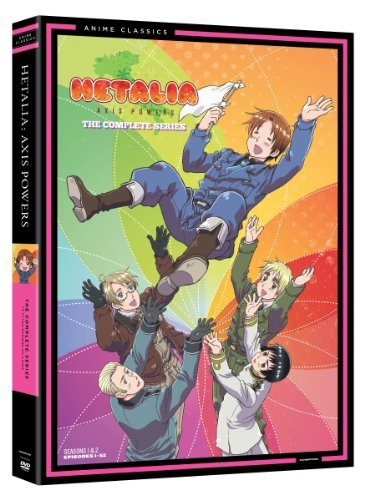 Hetalia Axis Powers Complete Series DVD Tvma