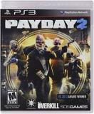 Ps3 Payday 2 505 Games