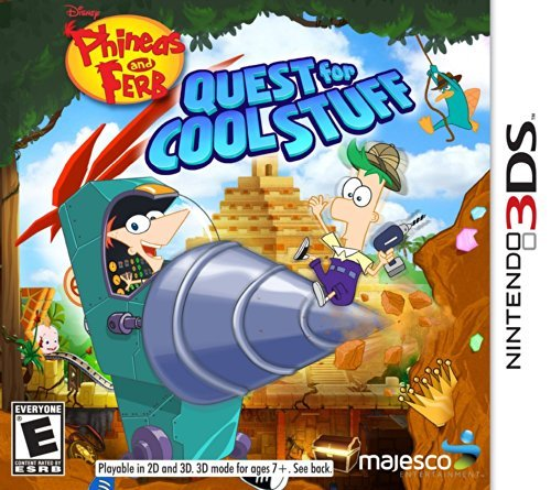 Nintendo 3ds Phineas & Ferb Quest For Cool Majesco Sales Inc. E