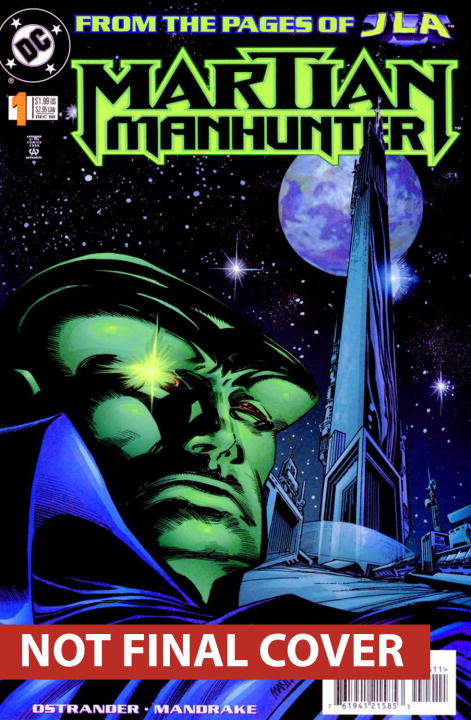 John Ostrander Martian Manhunter Son Of Mars