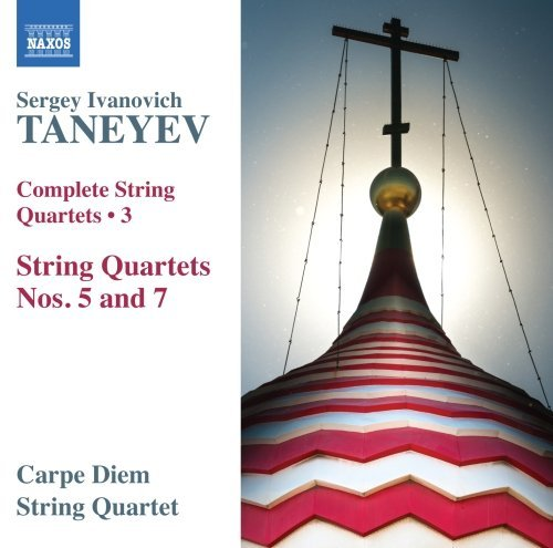 Taneyev Complete String Quartets Vol. Carpe Diem Quartet