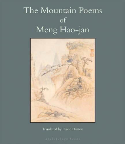 Meng Hao Jan The Mountain Poems Of Meng Hao Jan