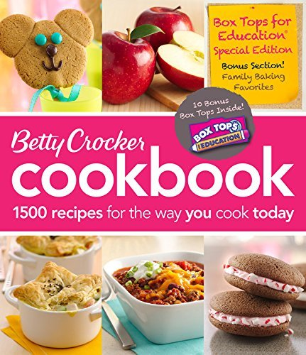 Betty Crocker Betty Crocker Cookbook 1500 Recipes For The Way You Cook Today 0011 Edition;