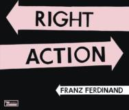 Franz Ferdinand Right Action 7 Inch Single Pink Colored Vinyl