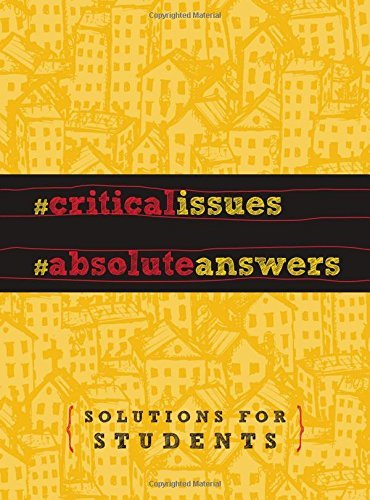 Thomas Nelson Critical Issues Absolute Answers Solutions For Students