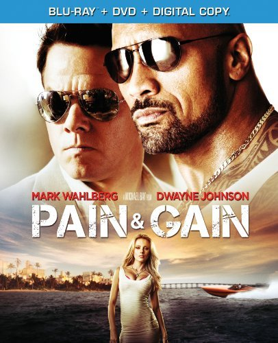 Pain & Gain Wahlberg Johnson Mackie Bay Blu Ray Ws R DVD Dc