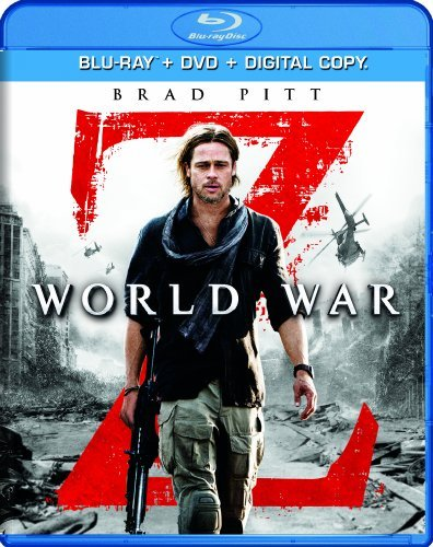 World War Z Pitt Fox Morse Enos Dale Blu Ray DVD Dc Pg13 Ws