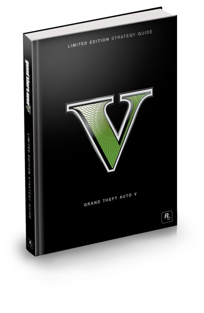 Bradygames Grand Theft Auto V Limited Edition Strategy Guide