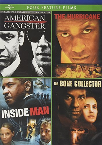 Denzel Washington American Gangster The Hurricane Inside Man The Bon