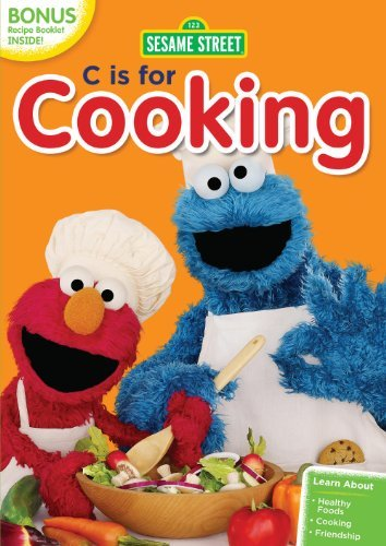 Sesame Street C Is For Cooking DVD Nr