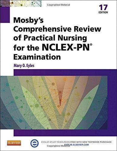 Mary O. Eyles Mosby's Comprehensive Review Of Practical Nursing 0017 Edition;revised
