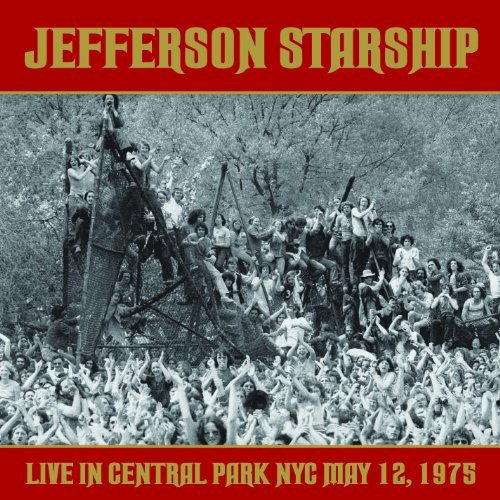 Jefferson Starship Live In Central Park Nyc May 1 2 CD