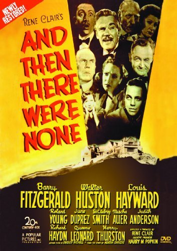 And Then There Were None Fitzgerald Huston Hayward Nr