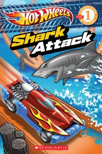 Ace Landers Hot Wheels Shark Attack