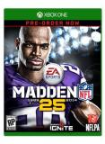 Xbox One Madden Nfl 25 Electronic Arts E