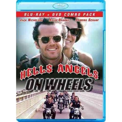Hells Angels On Wheels Nicholson Roarke Scharf Blu Ray Ws Nr Incl. DVD