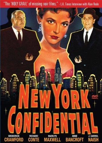 New York Confidential (1955) Crawford Conte Bancroft Nr