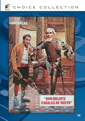 Don Quijote Cabalga De Nuevo Gomez Cantinflas Gabaldon DVD Mod This Item Is Made On Demand Could Take 2 3 Weeks For Delivery