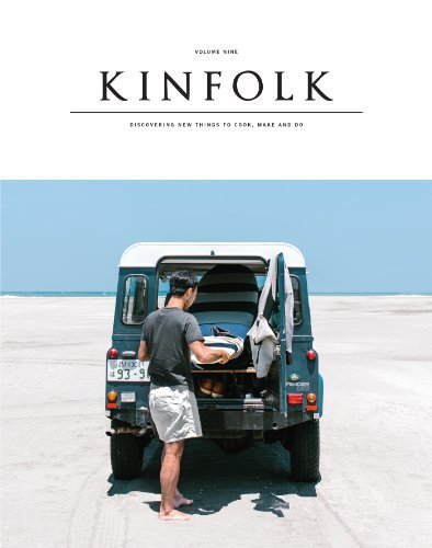 Various Kinfolk Volume Nine Discovering New Things To Cook Make And Do
