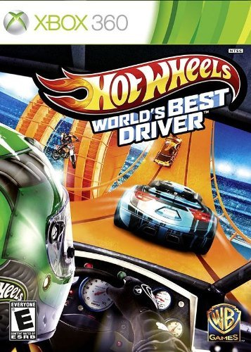 Xbox 360 Hot Wheels Worlds Best Driver Whv Games