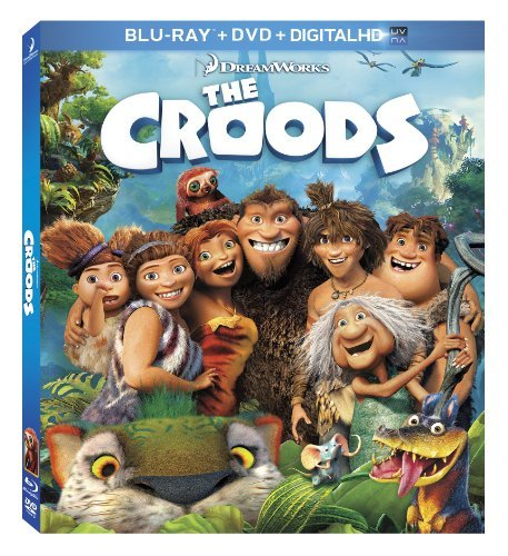 The Croods The Croods Blu Ray DVD Dc Pg