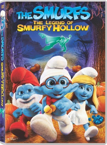Smurfs Legend Of Smurfy Hollow DVD G