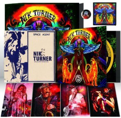 Nik Turner Space Gypsy Deluxe Box Edition